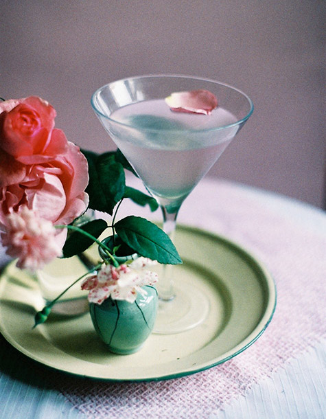 weekend cocktail: ROSE MARTINI