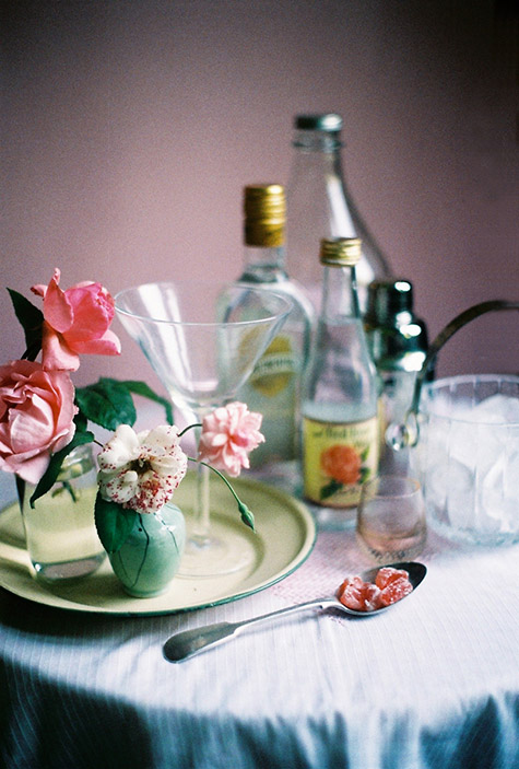 weekend cocktail: ROSE MARTINI #2