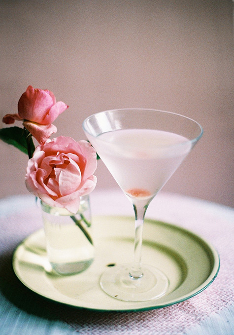 weekend cocktail: ROSE MARTINI #3