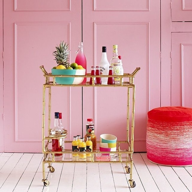 how to style your trolley bar