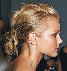new week hair:<br> the PERFECT undone DO