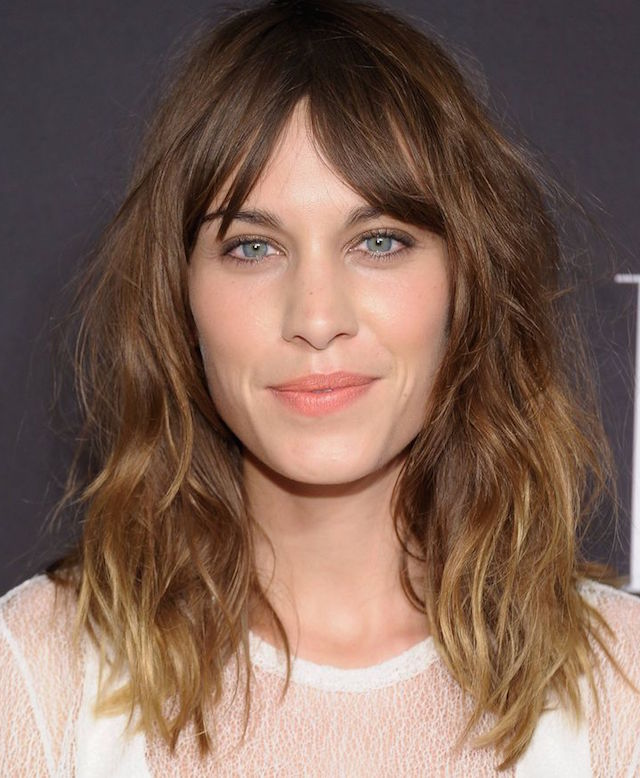 ALEXA CHUNG HAIR ADVICE