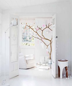 home inspiration: WHITE CHRISTMAS