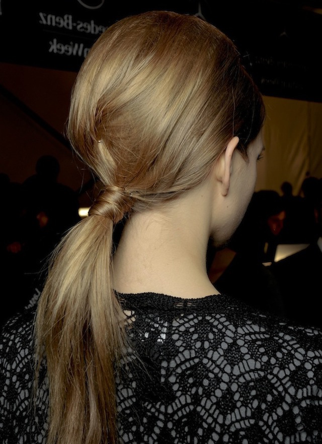 the 60s ponytail