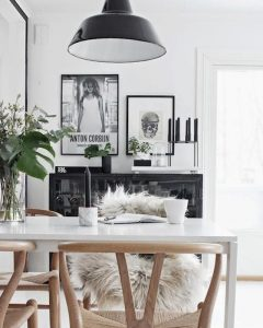 home inspiration: BLACK & TIMBER