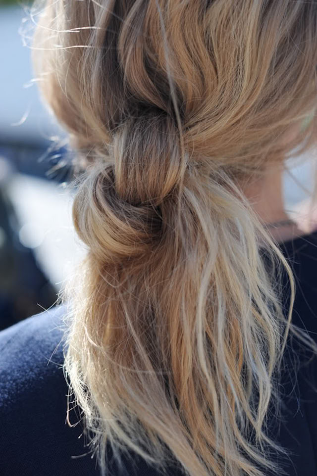 weekend hair doubleknot