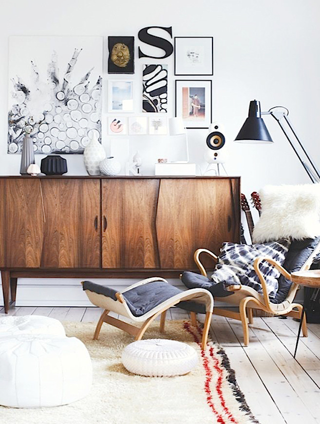 home inspiration: MODERN DANISH MIX