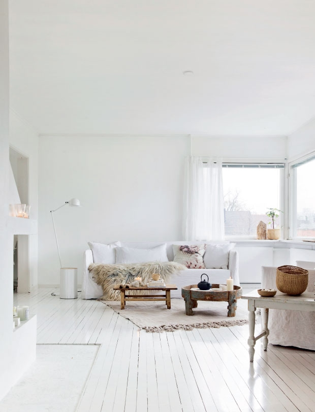 HOME INSPIRATION: SUPER-WHITE & SUPER-BRIGHT