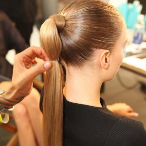WEEKEND HAIR: THE POLISHED PONY