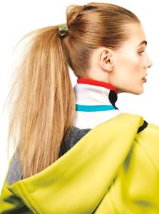upgrade your ponytail – style # 1