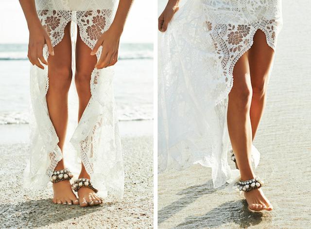 wedding inspiration: THE BAREFOOT BRIDE #2