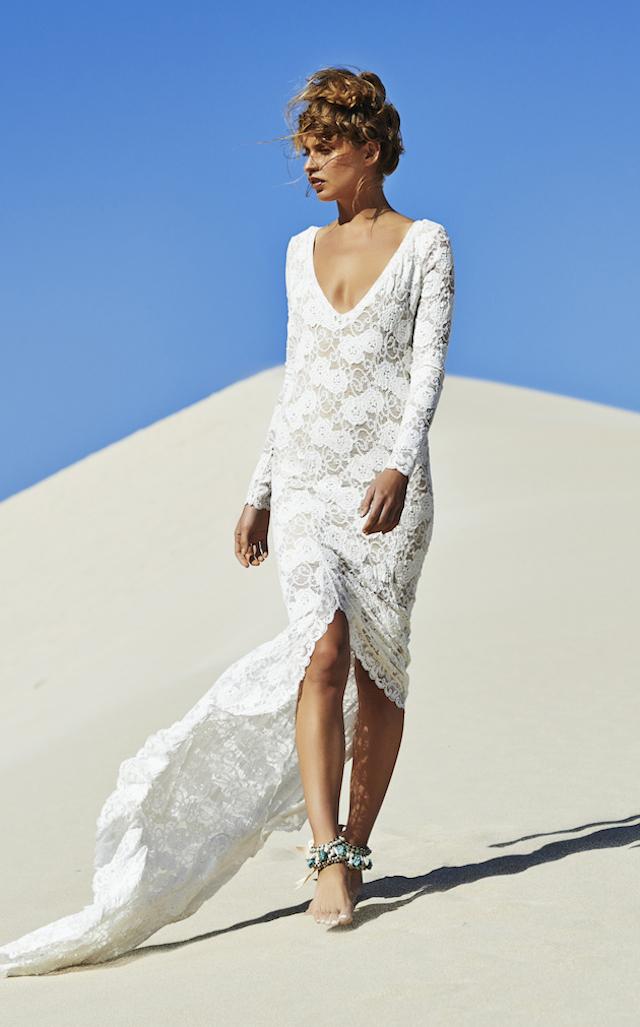 wedding inspiration: THE BAREFOOT BRIDE #3