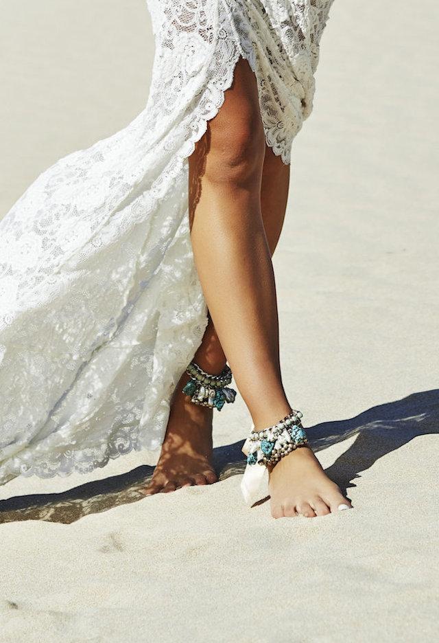 wedding inspiration: THE BAREFOOT BRIDE #4