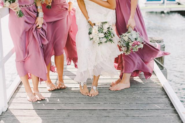 wedding inspiration: THE BAREFOOT BRIDE #9