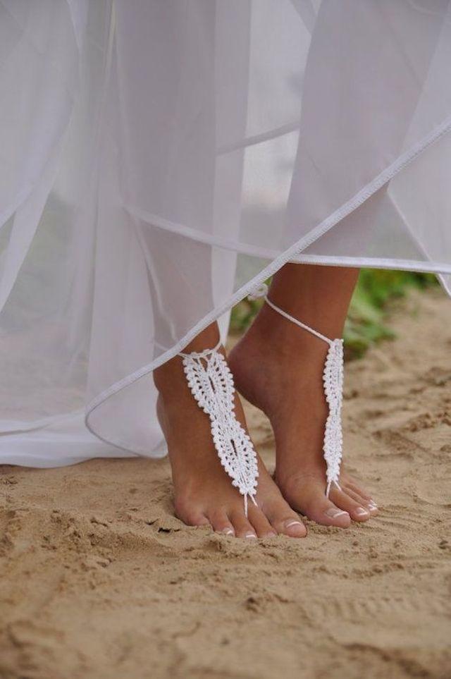 wedding inspiration: THE BAREFOOT BRIDE #8