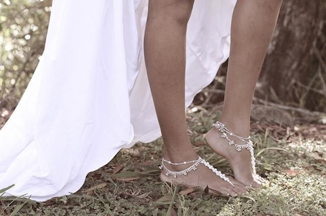 wedding inspiration: THE BAREFOOT BRIDE #7