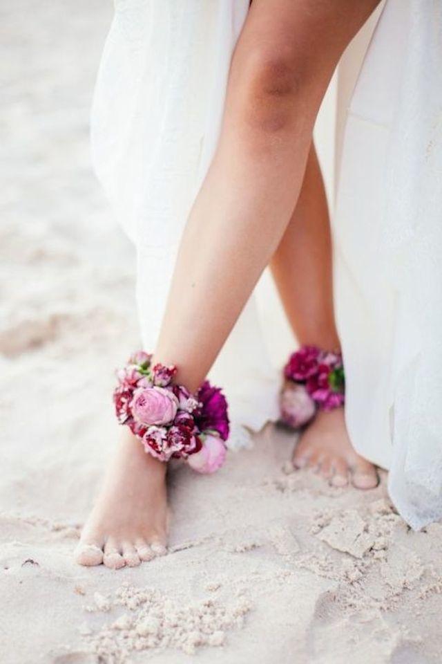 wedding inspiration: THE BAREFOOT BRIDE #6