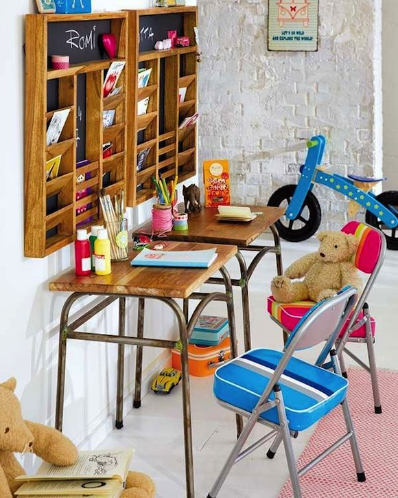 Creative workspace ideas for kids bellamumma for Cuarto de estudio
