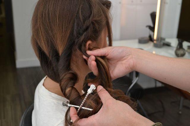 weekend hair: THE LOBSTER TAIL BRAID