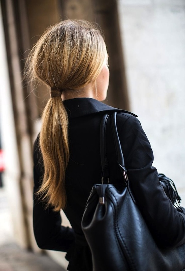 HAIR HOW-TO: 8 WRAPPED PONYTAILS 9