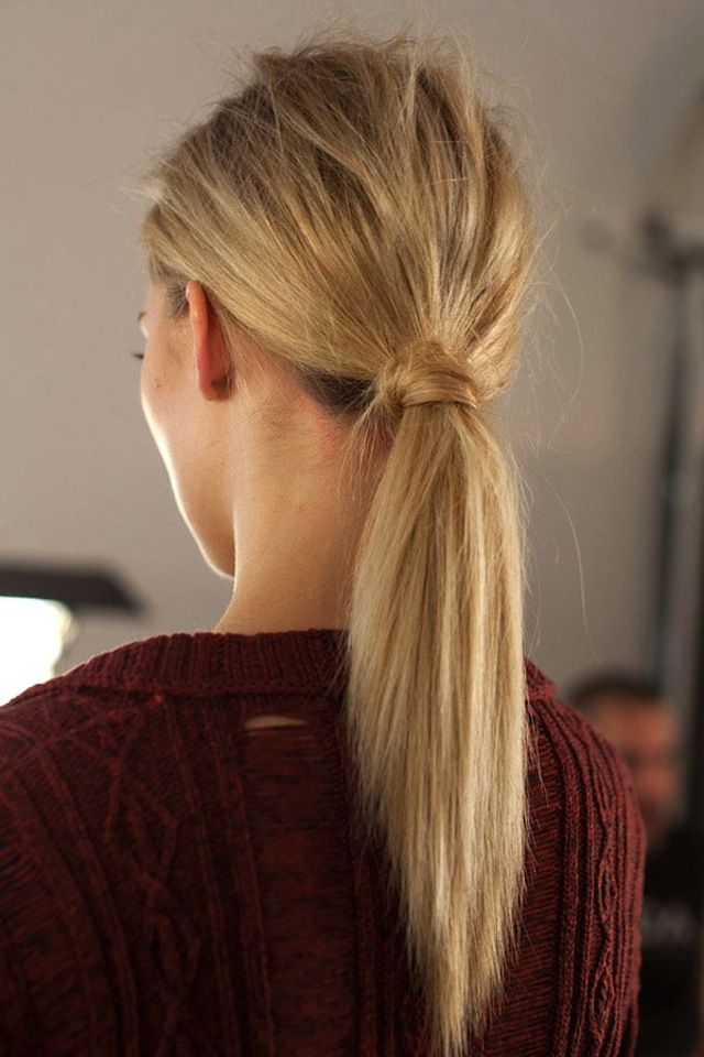 HAIR HOW TO 8 WRAPPED PONYTAILS