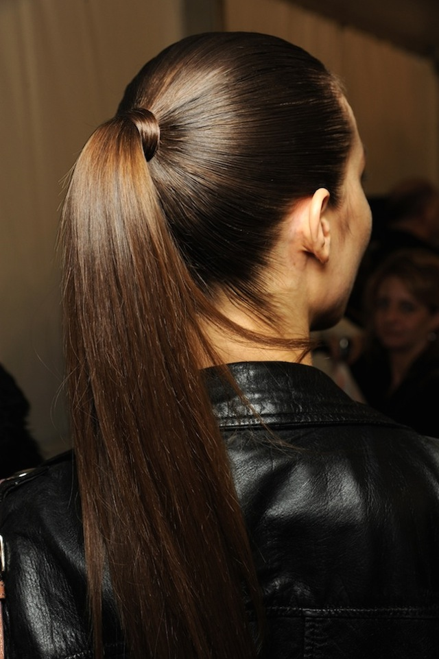 HAIR HOW TO 8 WRAPPED PONYTAILS 7