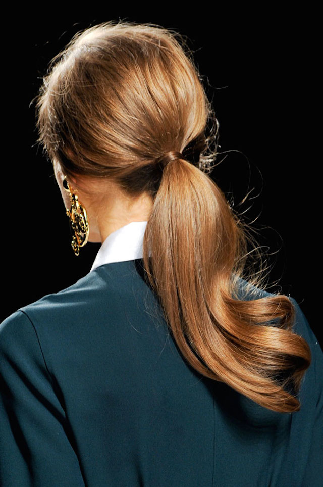 HAIR HOW-TO: 8 WRAPPED PONYTAILS 4