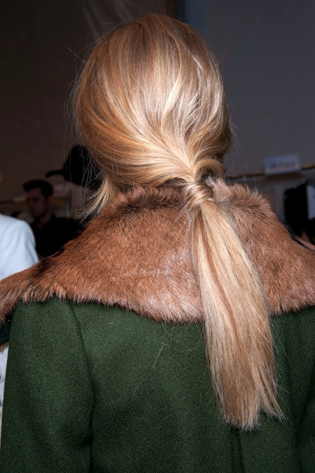 HAIR HOW-TO: 8 WRAPPED PONYTAILS 3