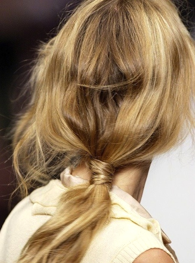 HAIR HOW-TO: 8 WRAPPED PONYTAILS 5