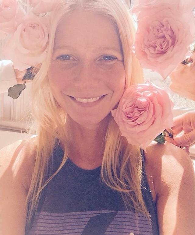 gwyneth make-up free
