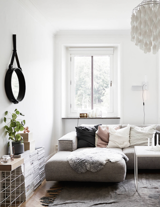 home inspiration SWEDISH APARTMENT 6