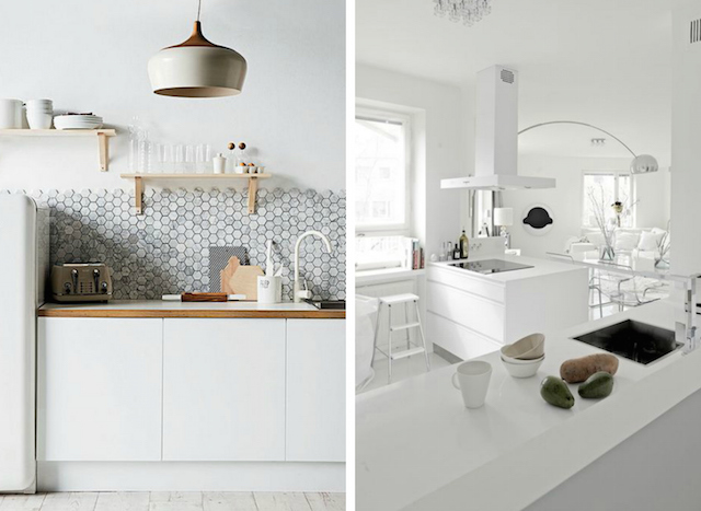 Coastal Style White Kitchen Inspiration