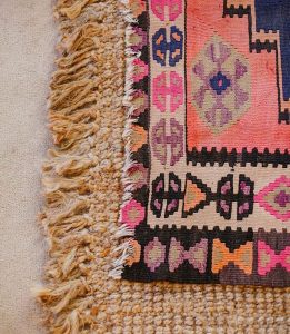 home inspiration: LAYERED RUGS