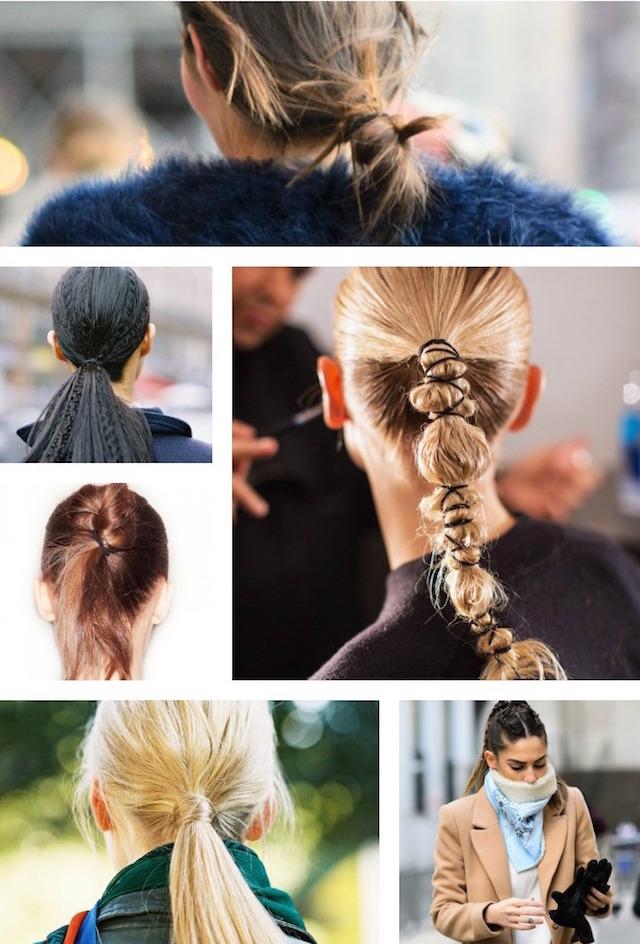 weekend hair - 6 ponytail upgrades