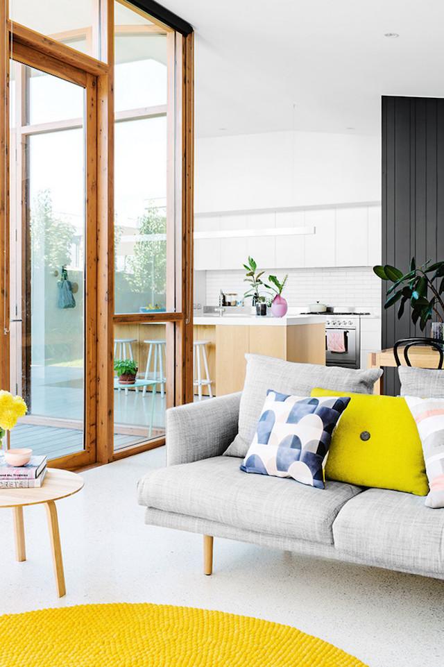 contemporary house make-over **