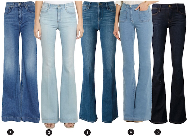 sunday style : DENIM FLARES - bellaMUMMA