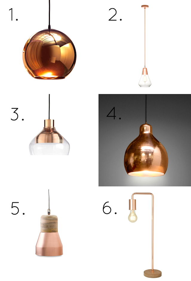 Copper Pendant Lights Beacon Design Ideas