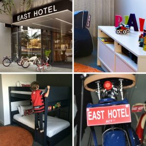 hotel hotlist:<br> EAST HOTEL&#8217;S KID CUBBY ROOM