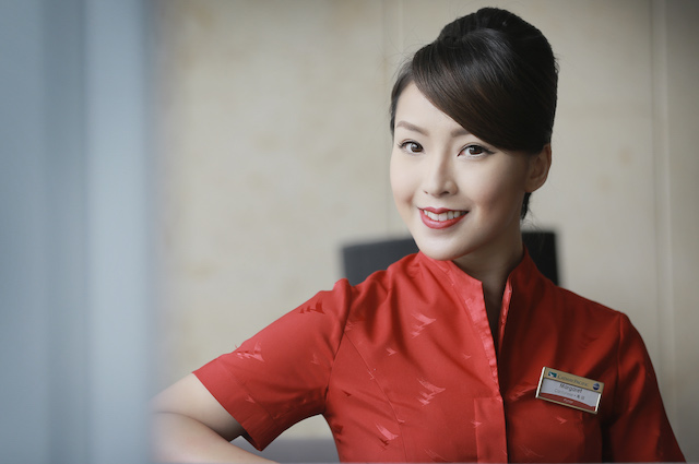 Cathay Pacific_Margaret Lai_Flight Purser 1