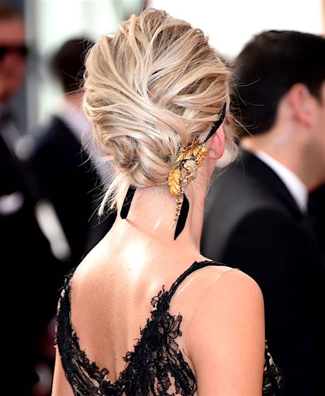 party hair #1 - THE UNDONE BUN