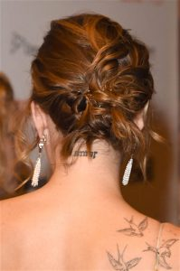 party hair #2: THE KNOTTED UPDO