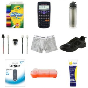 back-to-school:<BR> YOUR CHECK-LIST SORTED