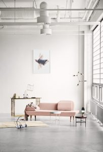 home inspiration: A POP OF PINK