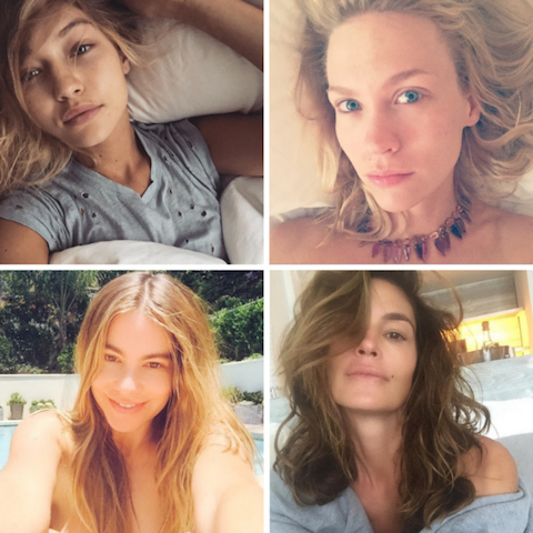 make-up free celebs copy
