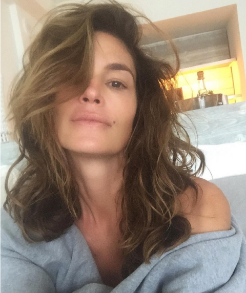 make-up free cindy crawford