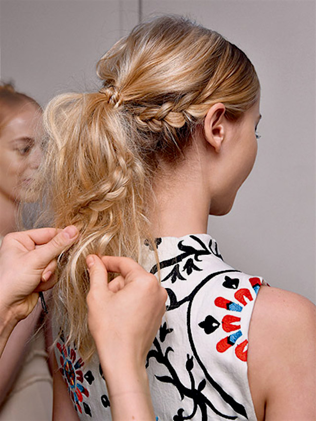 WEEKEND HAIR: UPGRADE YOUR PONYTAIL