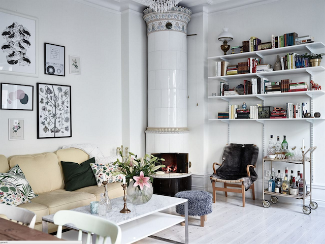 home inspiration: SWEDISH FAMILY APARTMENT 2