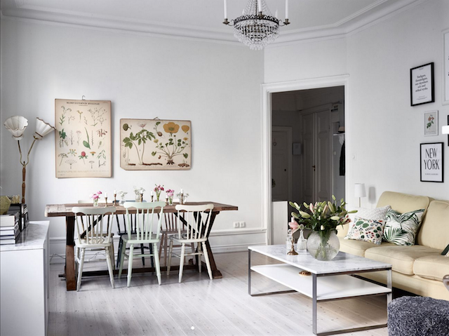 home inspiration: SWEDISH FAMILY APARTMENT 3