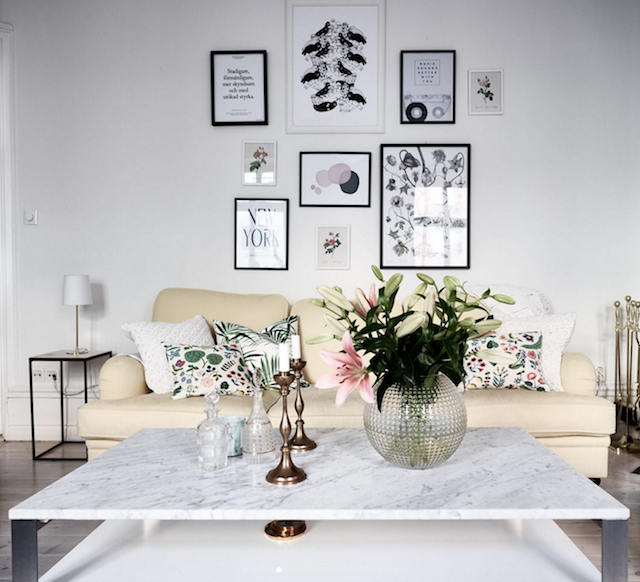 home inspiration: SWEDISH FAMILY APARTMENT 4