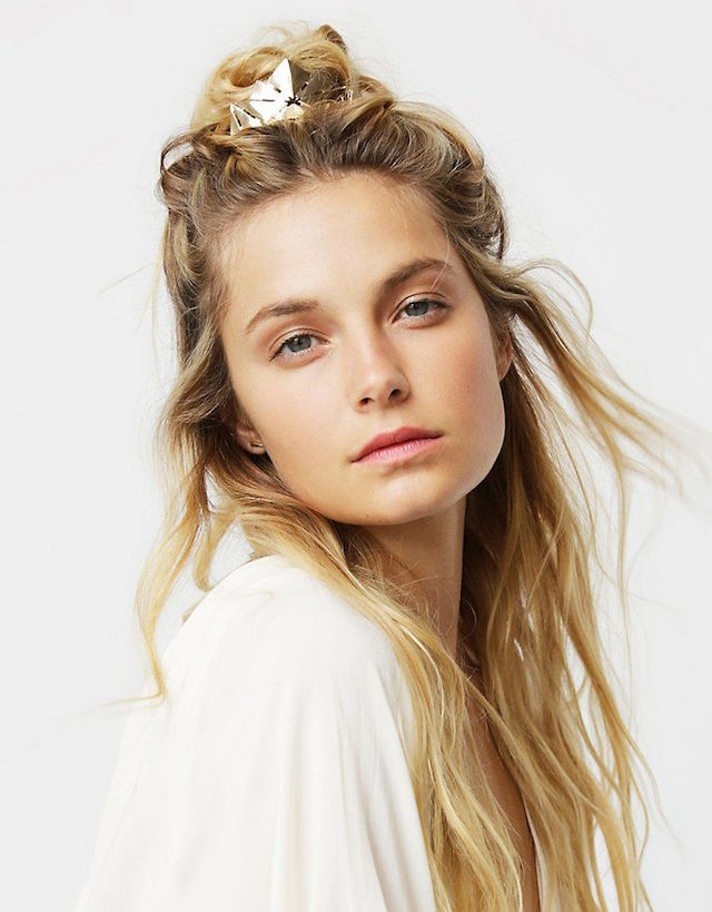 #beautyinsider: 6 RULES OF THE MESSY HALF-UP KNOT